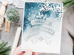 Video: Foiled Watercoloured Christmas Card with Debby Hughes