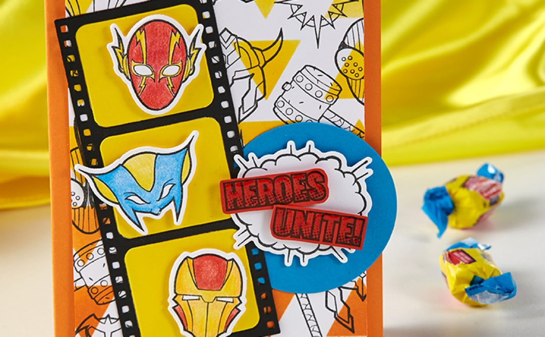 Cards and Crafts For Superhero Parties