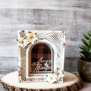 Spellbinders 3D Holiday Vignettes Collection by Becca Feeken - Inspiration   Christmas Decor by Mallika Kejriwal