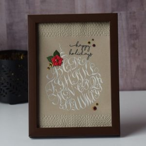 Spellbinders Paul Antonio Holiday 2019 Inspiration | Card and Home Decor Ideas with Varada Sharma