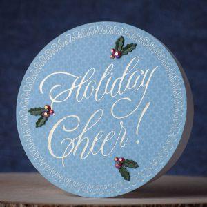 Spellbinders Paul Antonio Holiday 2019 Inspiration | Card and Home Decor Ideas with Varada Sharma