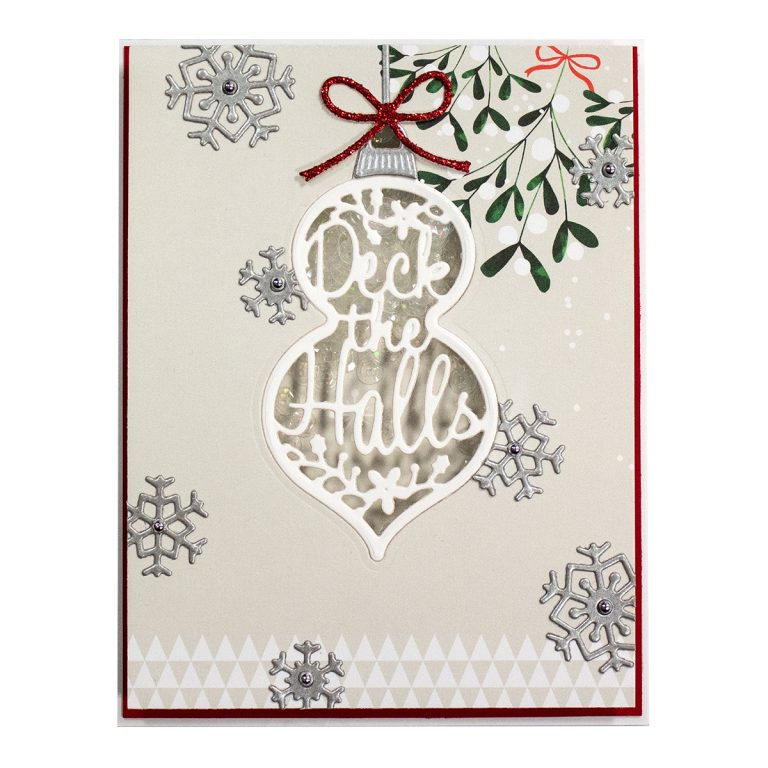 Die D-Lites Deck The Halls Etched Dies Holiday 2019