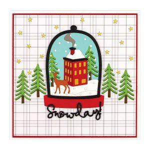 Shapeabilities Santa's Workshop Etched Dies Holiday 2019