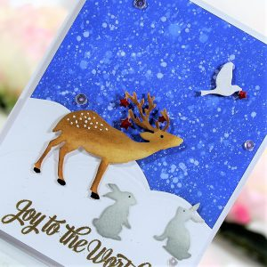 Spellbinders Sharyn Sowell Holiday 2019 Collection - Inspiration   Scenic to Simple Cards with Betty