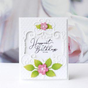 Spellbinders Candlewick Sampler Collection by Becca Feeken - Inspiration   Handmade Cards with Karin Åkesdotter