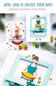 Spellbinders October 2019 Small Die of the Month is Here – Home for the Holidays