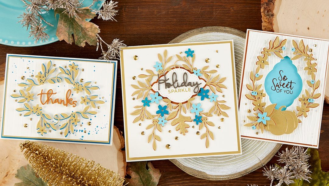 Spellbinders October 2019 Large Die of the Month is Here – Fall Flora