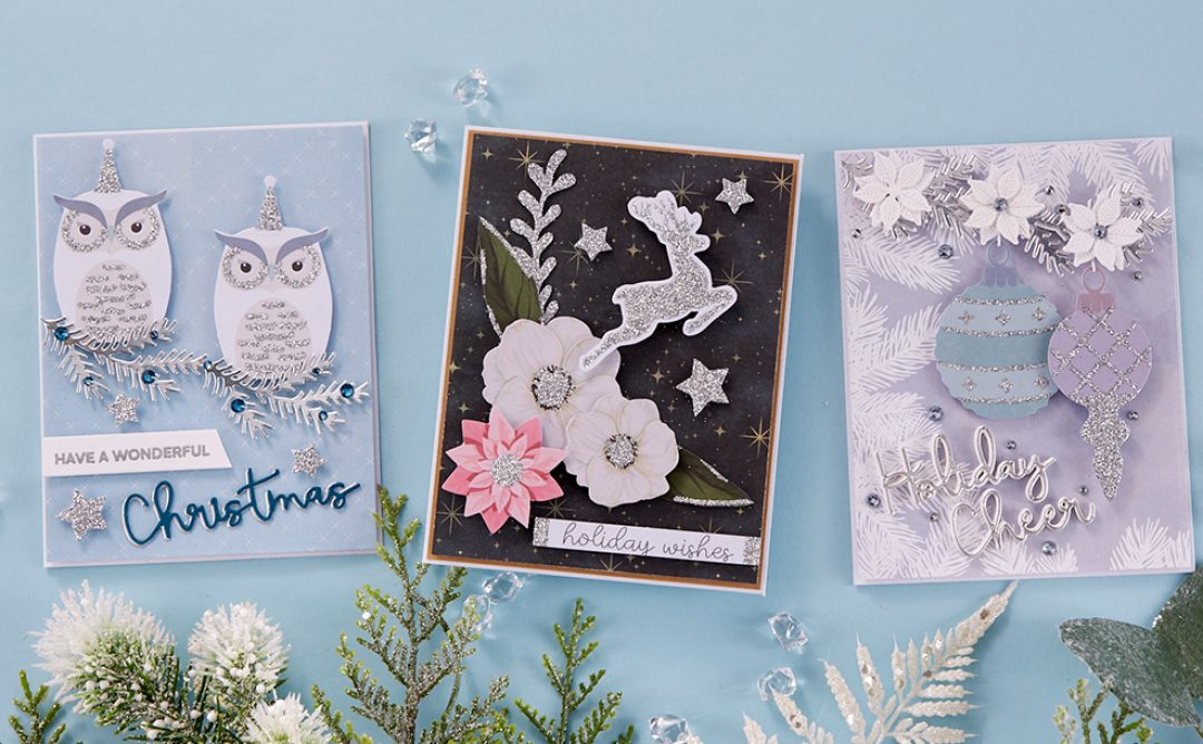 October 2019 Card Kit of the Month is Here – Sparkling Holidays