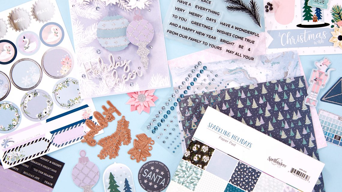 Coming Soon! October 2019 Clubs! Card Kit of the Month – Sparkling Holidays. Unboxing Video