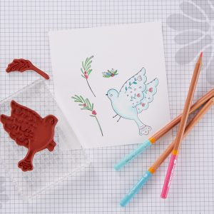 Fun Stampers Journey October 2019 Stamp of the Month is Here - Joyous Bird