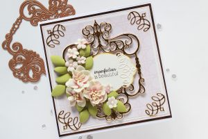 Spellbinders Candlewick Sampler Collection by Becca Feeken - Inspiration   Layered Card Ideas with Hussena Calcuttawala