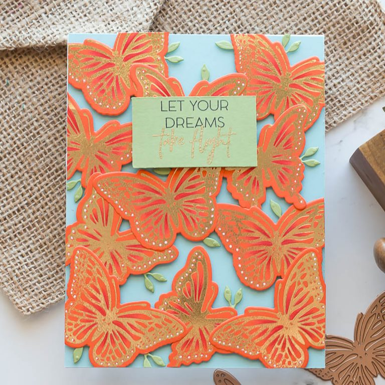 Spellbinders October 2019 Glimmer Plates Inspiration   Beautifully Foiled Cards by Marie Heiderscheit