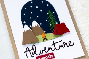 Spellbinders Scenic Snapshots Collection Inspiration | Seasonal Cards with Svitlana Shayevich