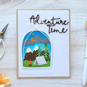 Spellbinders Scenic Snapshots Collection Inspiration | Greeting Cards by Yasmin Diaz