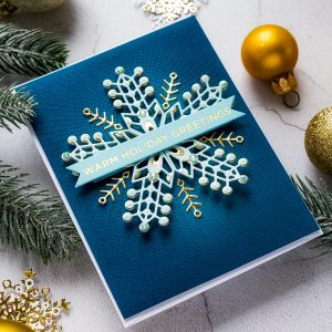 November 2019 Small Die of the Month is Here – Kaleidoscope Snowflake
