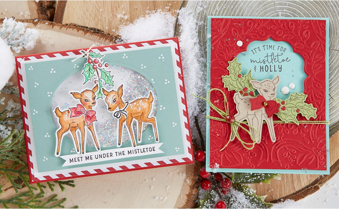 November 2019 Stamp of the Month is Here – Mistletoe & Holly