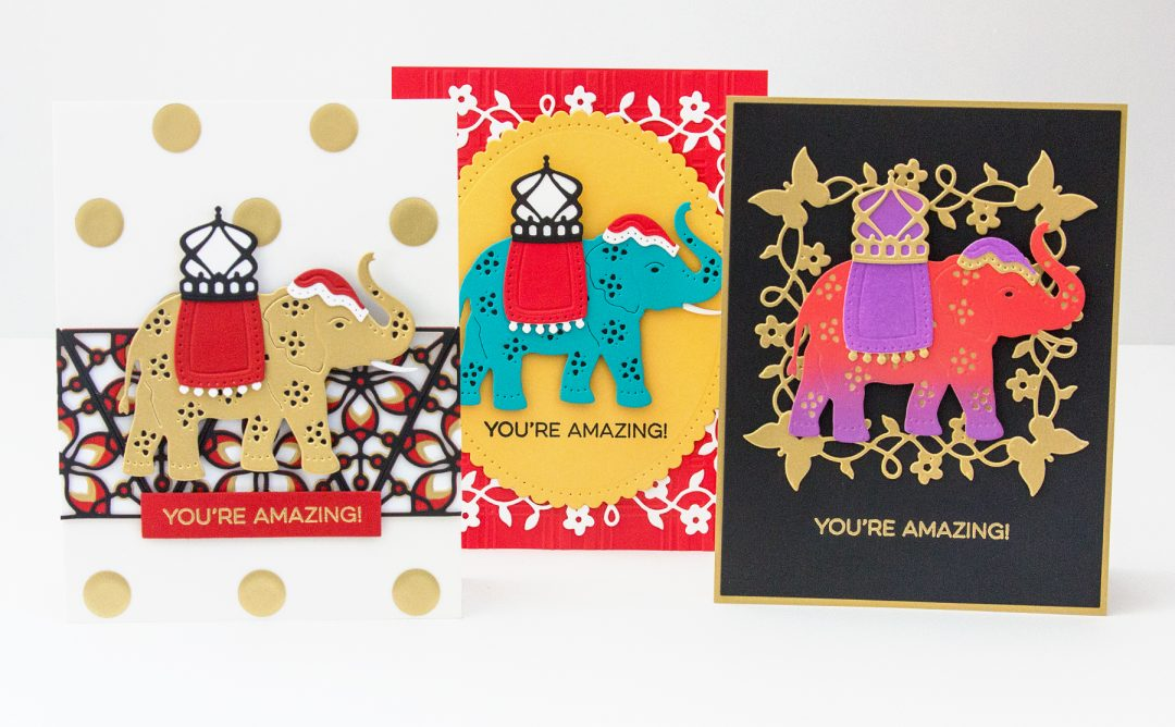 Die D-Lites Inspiration | Elephant Festival Cards with Jean Manis