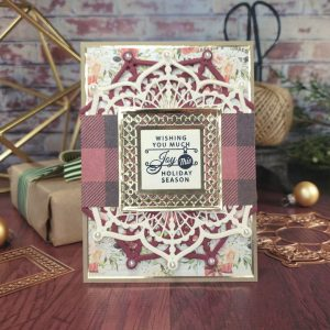 Spellbinders Candlewick Classics Collection by Becca Feeken - Inspiration | Christmas Card Trio with Sheri