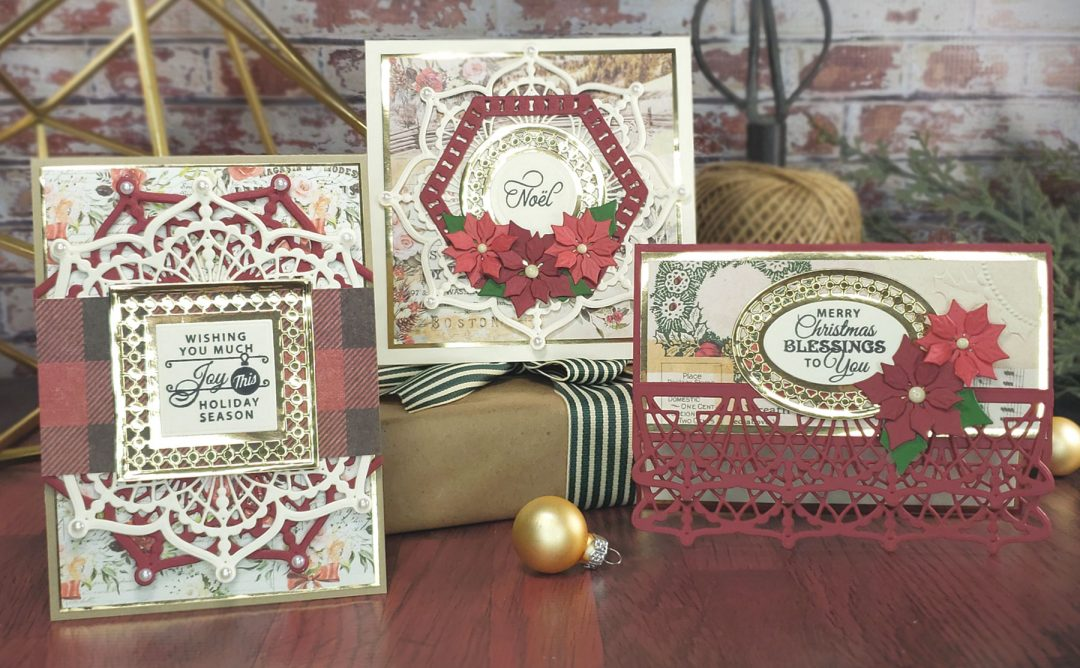 Candlewick Classics Collection Inspiration | Christmas Card Trio with Sheri