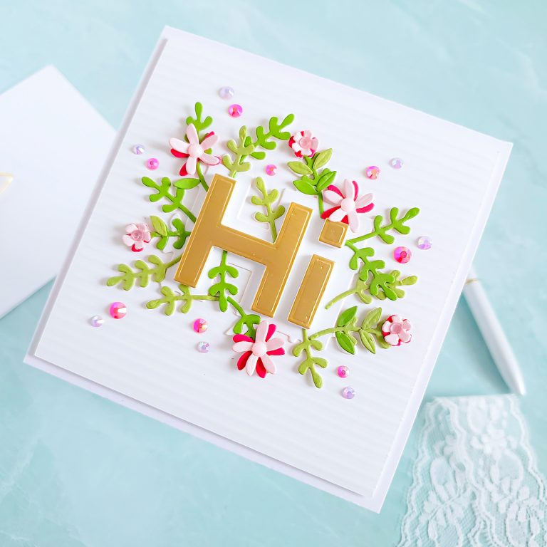 Spellbinders Die D-Lites Inspiration | Colorful Greeting Cards with Yasmin Diaz
