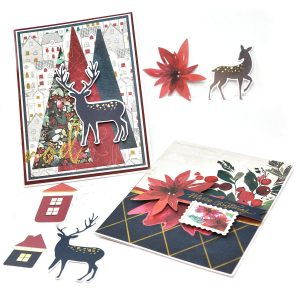 Spellbinders Card Club Kit Extras! November 2019 Edition - Christmas Wishes Collection