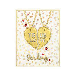 Spellbinders January 2020 Large Die of the Month is Here – Friendship Necklace #SpellbindersClubKits #NeverStopMaking