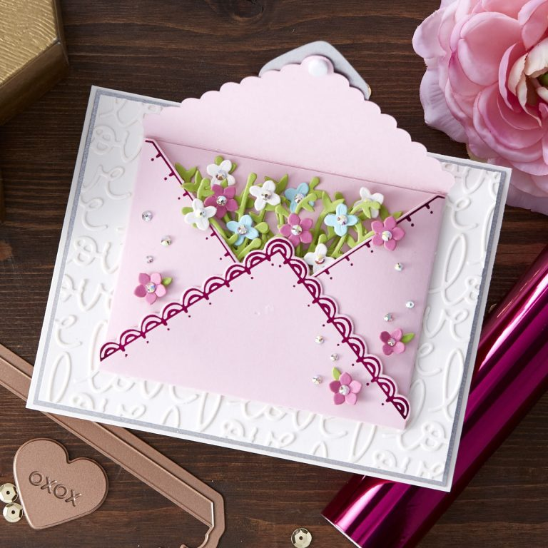 Spellbinders January 2020 Glimmer Hot Foil Kit of the Month is Here – Signed, Sealed, Delivered #SpellbindersClubKits #NeverStopMaking #GlimmerHotFoilSystem