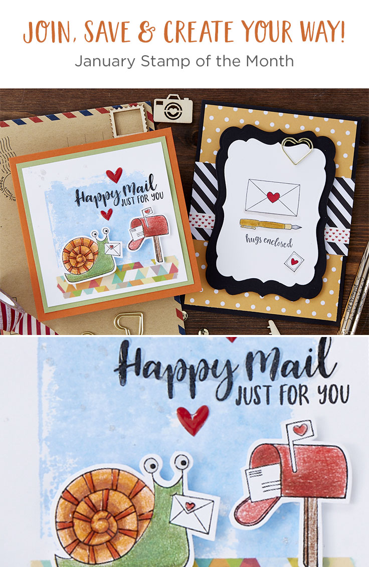 Fun Stampers Journey January 2020 Stamp of the Month is Here - Hugs Enclosed #FSJSOTM #SpellbindersClubKits #NeverStopMaking
