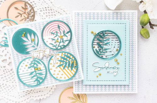 Spellbinders February 2020 Small Die of the Month is Here – Art Studio Botanicals
