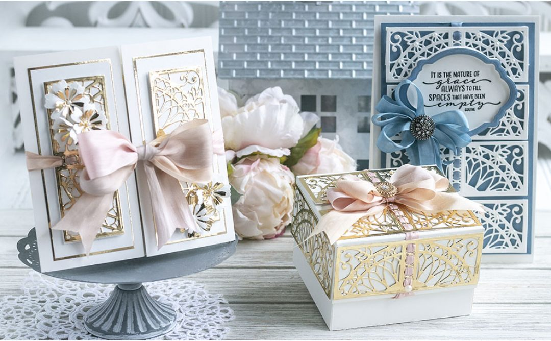 February 2020 Amazing Paper Grace Die of the Month is Here – Elegant Reveal Shutter Card