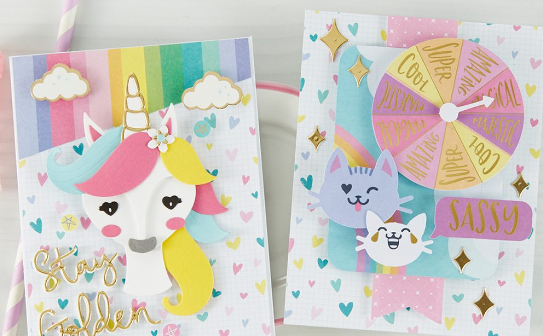 February 2020 Card Kit of the Month is Here – Unicorn Dreams