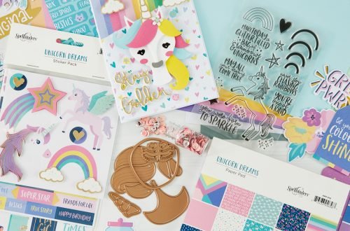 Coming Soon! February 2020 Clubs! Card Kit of the Month – Unicorn Dreams. Unboxing Video