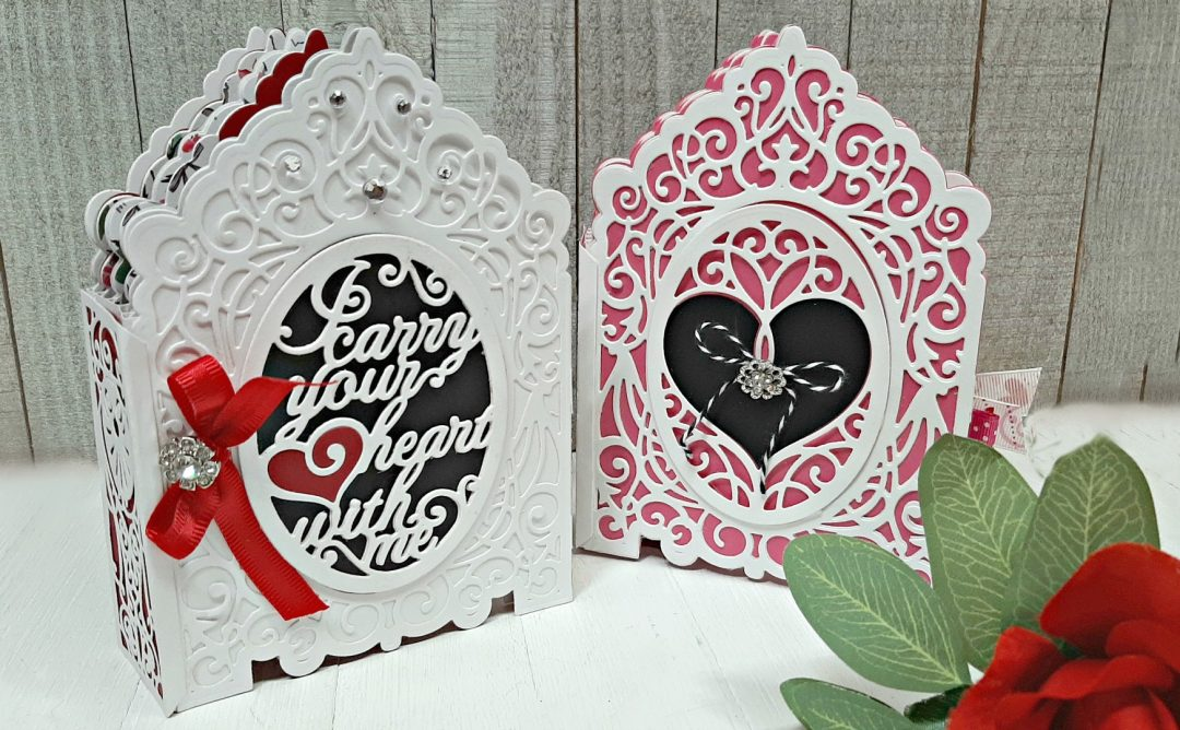 Amazing Paper Grace 3D Vignette Mini Album | Mini Albums with Tina Smith | Video