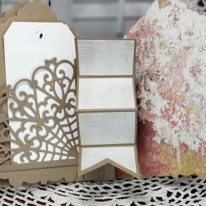 3D Vignette Mini Album Inspiration | Mini Album & Card By Sheri Holt