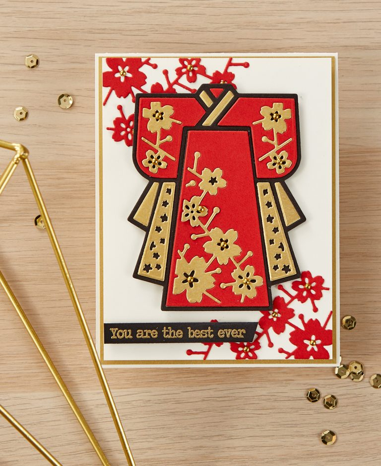 Spellbinders - The Cutting Edge Project Kit! You Are The Best Ever Card
