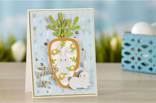 Spellbinders March 2020 Small Die of the Month is Here – 24 Carrot #NeverStopMaking #SpellbindersClubKits #DieCutting