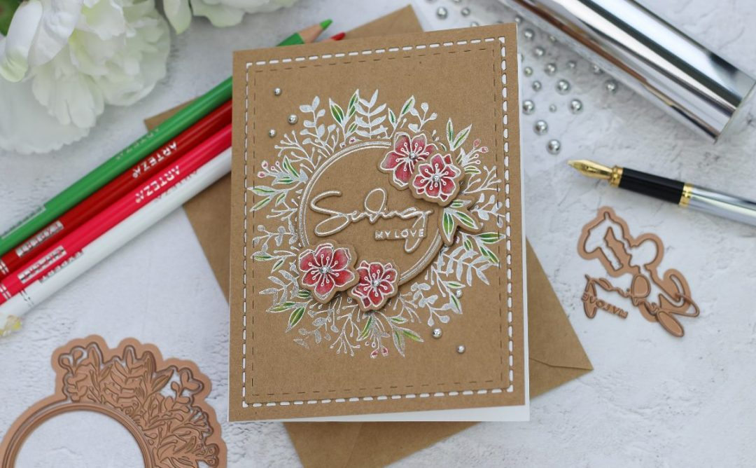 Yana's Foiled Basics Inspiration | Simple Foiled Cards with Bibi Cameron