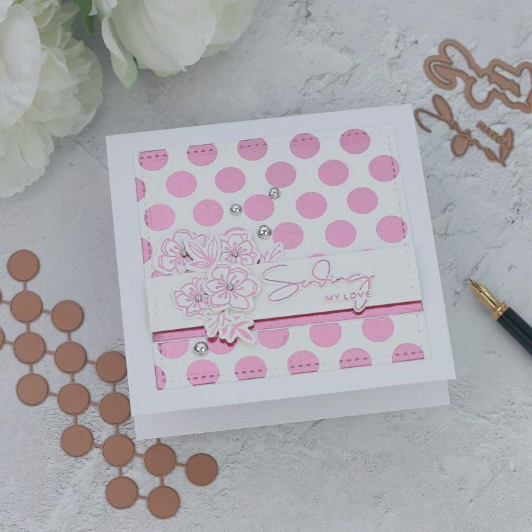 Spellbinders Yana's Foiled Basics Collection - Inspiration | Simple Foiled Cards with Bibi Cameron #YSFoiledBasics #GlimmerHotFoilSystem #Spellbinders #HotFoil #Cardmaking