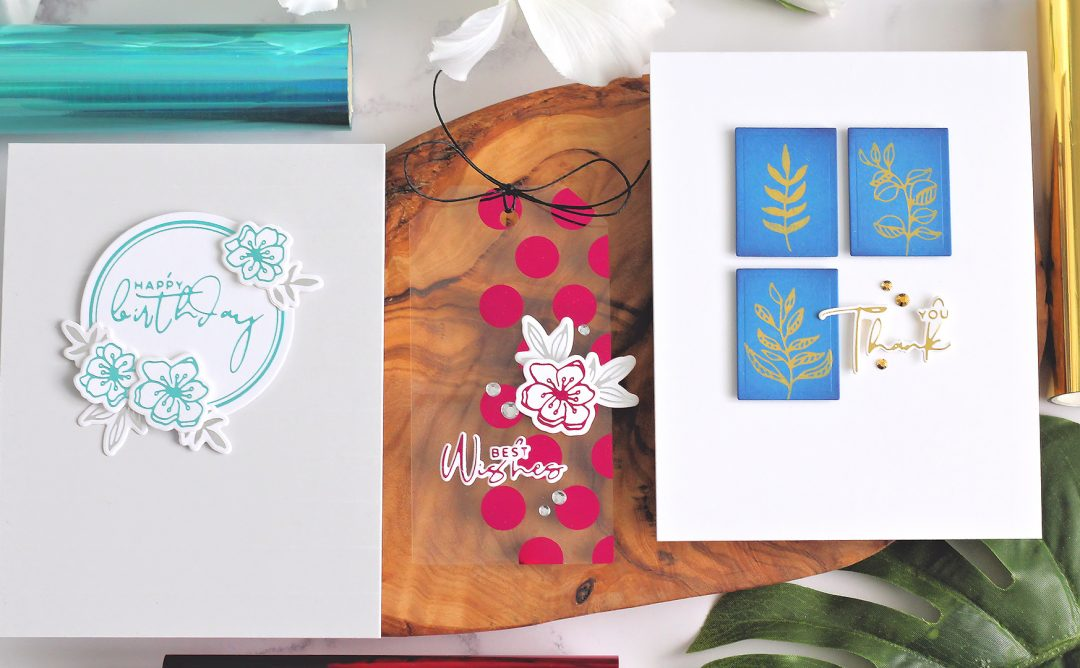 Yana's Foiled Basics | Clean & Simple Foiled Cardmaking with Michelle Short | Video