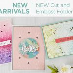 What's New | Cut & Emboss Folders