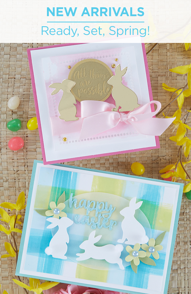 Spellbinders New Arrivals - Ready, Set, Spring Collection from Fun Stampers Journey