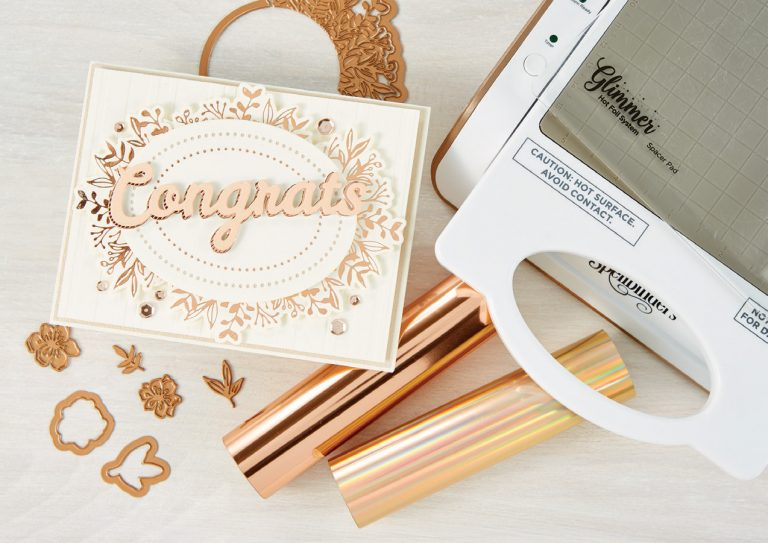What's New at Spellbinders | The Bold Type Sentiments Collection #Spellbinders #NeverStopMaking #DieCutting