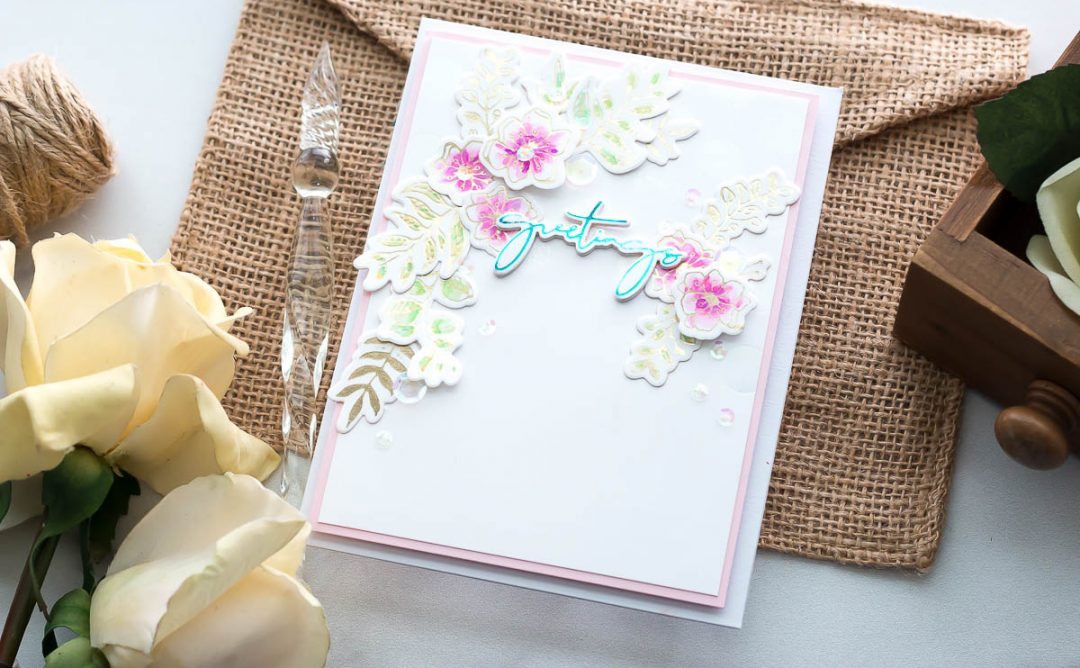 Yana's Foiled Basics | Foiled Card Ideas with Marie Heiderscheit | Video