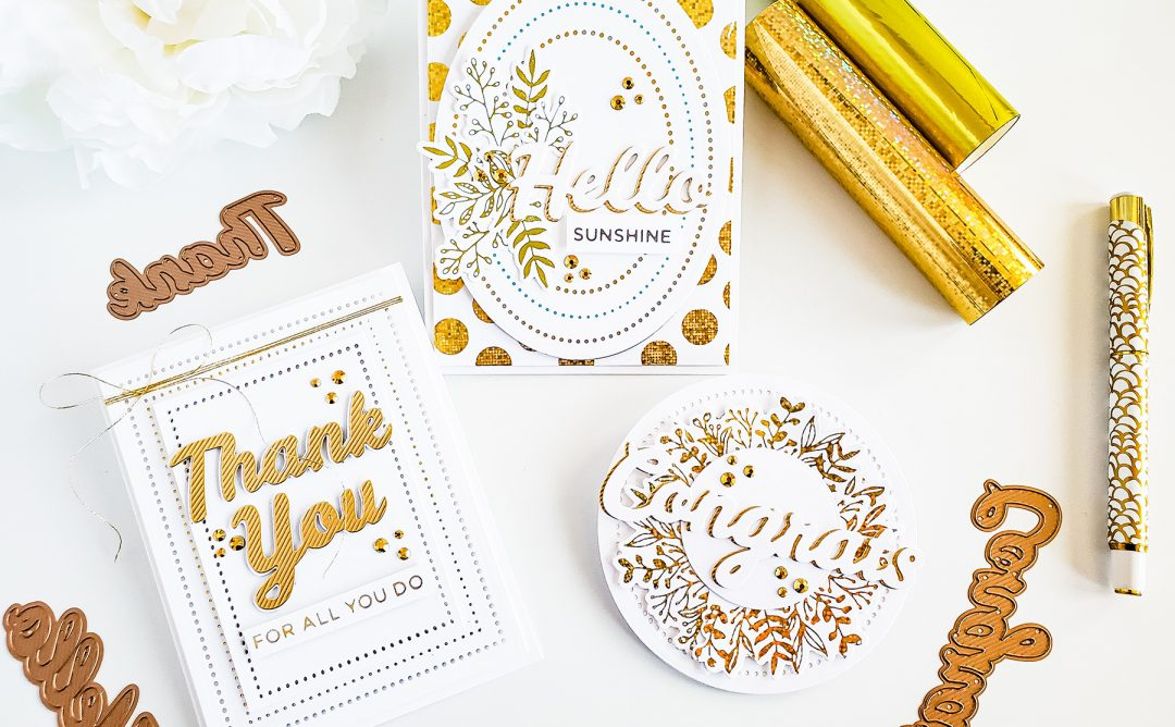 Bold Type Inspiration | Clean & Simple Cards with Yasmin