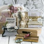 April 2020 Amazing Paper Grace Die of the Month is Here – Pop Up 3D Vignette Typewriter