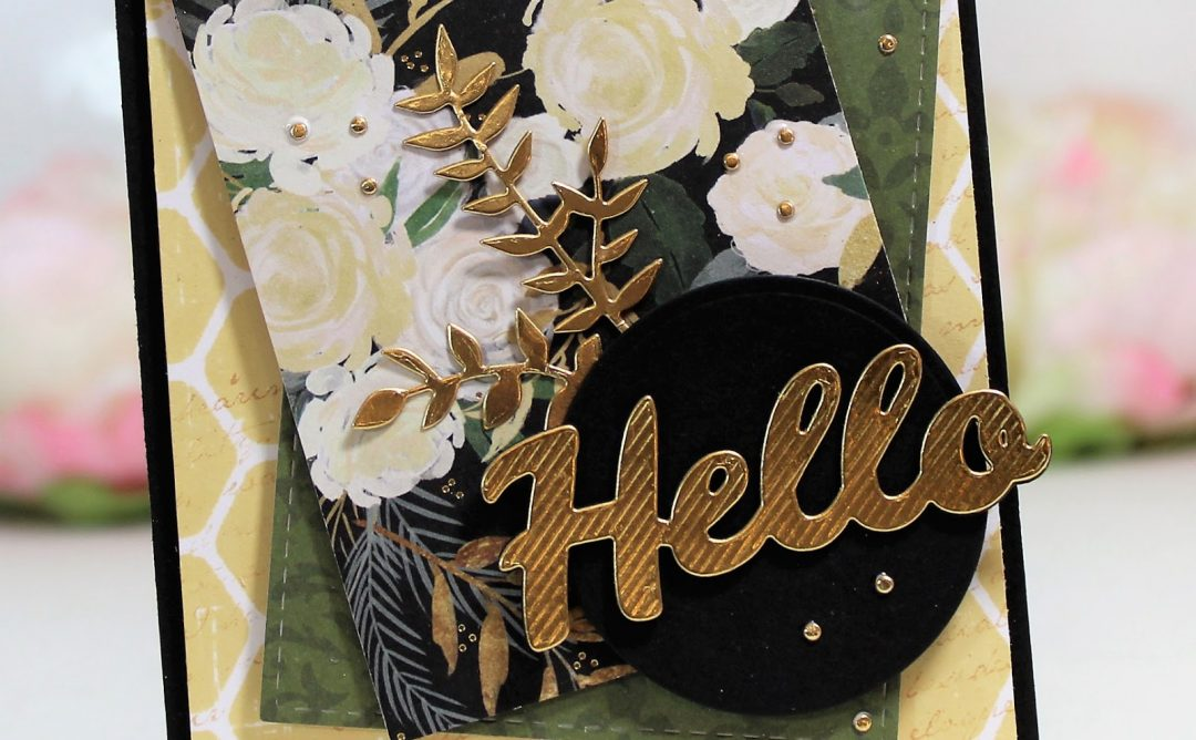 Bold Type Inspiration | Clean & Simple Cards with Betty Wright