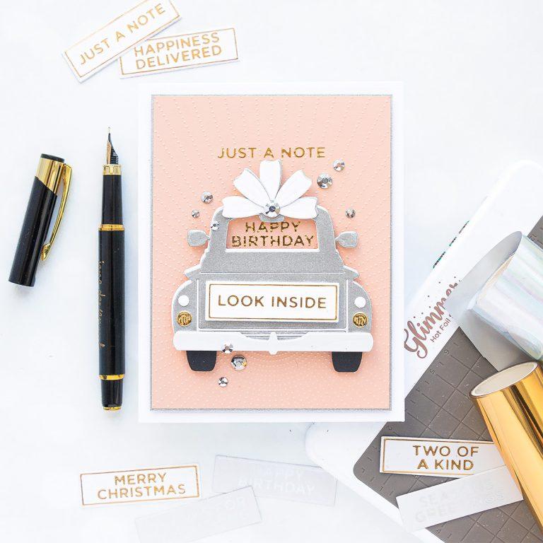 Spellbinders April 2020 Glimmer Hot Foil Kit of the Month is Here – Celebrate the Day #Spellbinders #NeverStopMaking #SpellbindersClubKits
