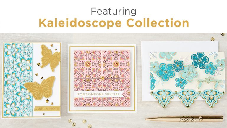 What's New at Spellbinders | The Kaleidoscope Collection #Spellbinders #NeverStopMaking #DieCutting