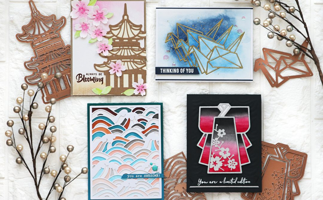 Destinations Japan Inspiration | Handmade Cards by TaeEun