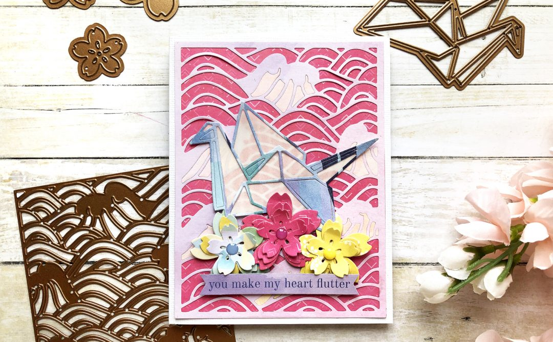 Spellbinders Destination Japan Collection Inspiration | with Enza Gudor #Spellbinders #NeverStopMaking #DieCutting